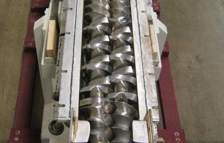 Readco Continuous Mixer Rebuild
